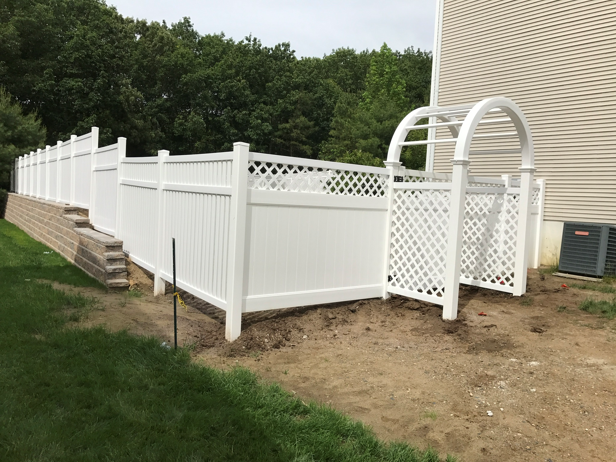 Vinyl Fencing Property Fence Llc